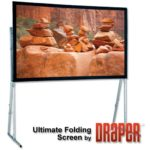 6.75′ x 12′ Ultimate Folding Screen for rent