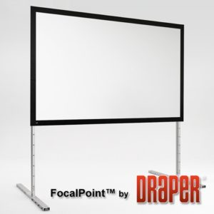 5.75′ x 10′ FocalPoint Projection Screen for rent