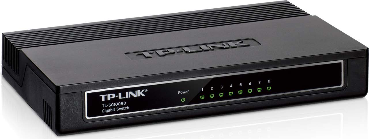 TP-LINK 8-Port Gigabit Ethernet Switch