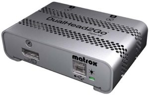 Matrox DualHead2Go for rent