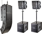 Line Array Systems Rentals