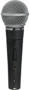 Shure SM58S for rent