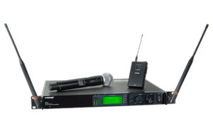 Shure UHF-R Professional Wireless Mic System