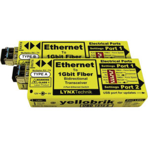 Lynx Technik AG Yellowbrick Ethernet to Fiber for rent