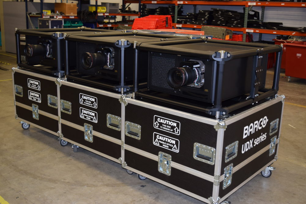 Barco UDX-4K32 for rent