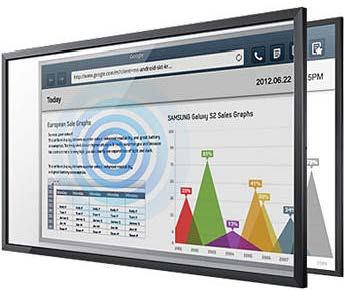 55″ Samsung Touch Screen Overlay for rent
