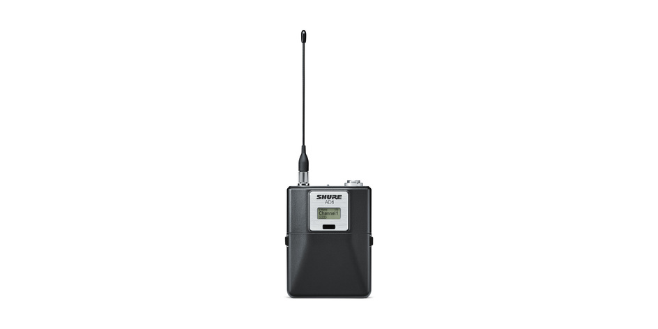 Shure AD4D Axient Wireless Mic System for rent