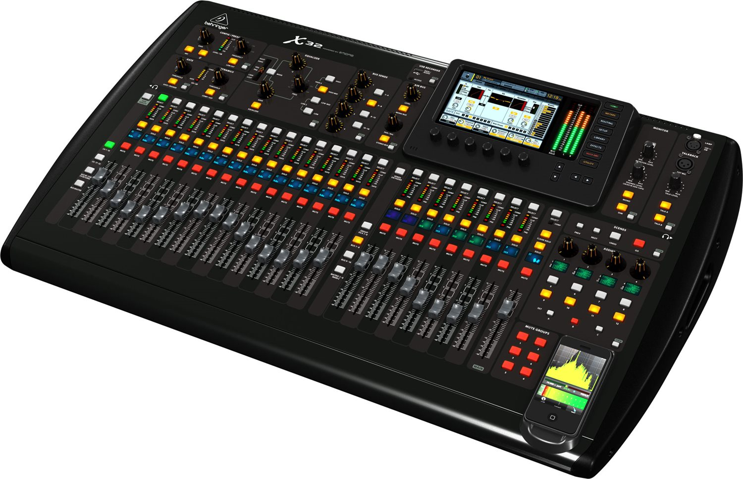 Behringer X32 for rent