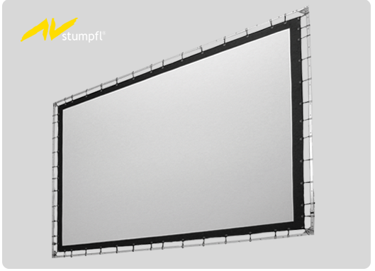 20′ x 100′ AV Stumpfl Grommet Screen for rent
