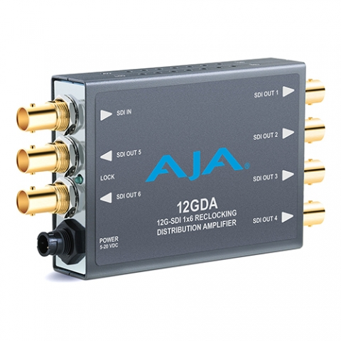 AJA 12GDA 1×6 for rent