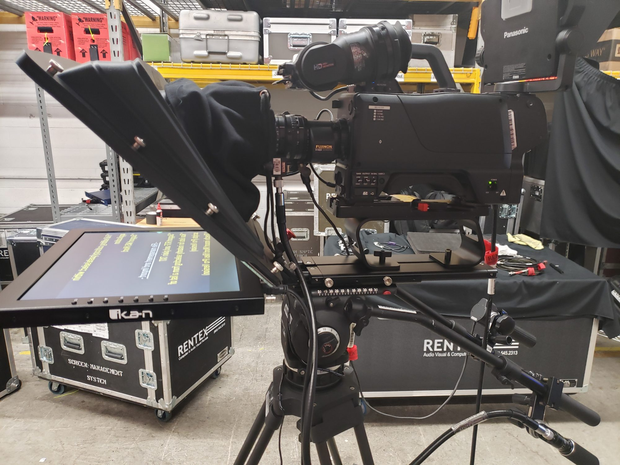 ikan PT4700-SDI Prompter System for rent
